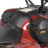 Quadboss XT Tank Saddlebag Organizer Sports ATV Tank Bags - Black / One Size